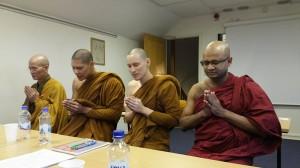 2016 Feb - Konferens med workshop om buddhistiskt andlig vård
